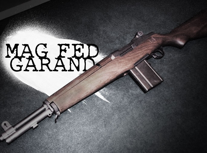 M-14 Magazine Fed Garand Conversion